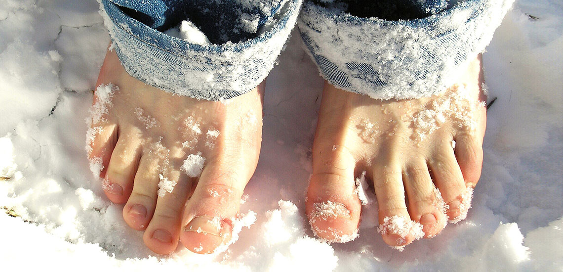 Κρύα Πόδια: Συνηθέστερες αιτίες και συμβουλές
